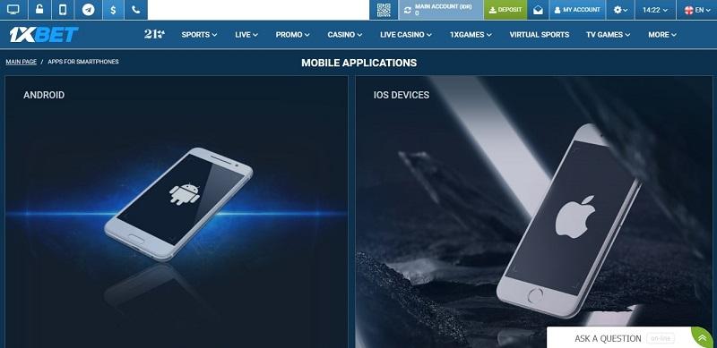 Cara Mengunduh Aplikasi Seluler 1xBet Untuk Android