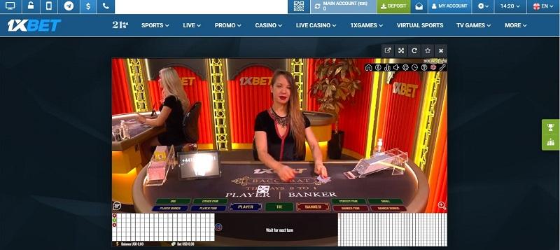 Kisah Unik Baccarat Casino 1xBet