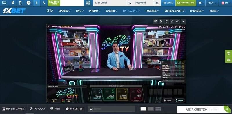 Bermain 1xBet Poker dengan Download 1xBet App