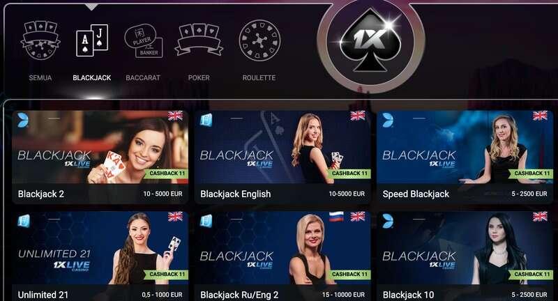 Pilihan Permainan Blackjack Game yang Sangat Elegan