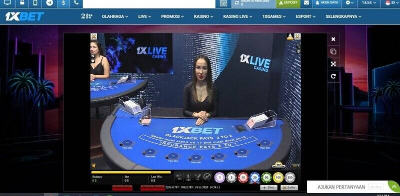 Permainan Paling Dicari di Casino 1xBet: Blackjack Online